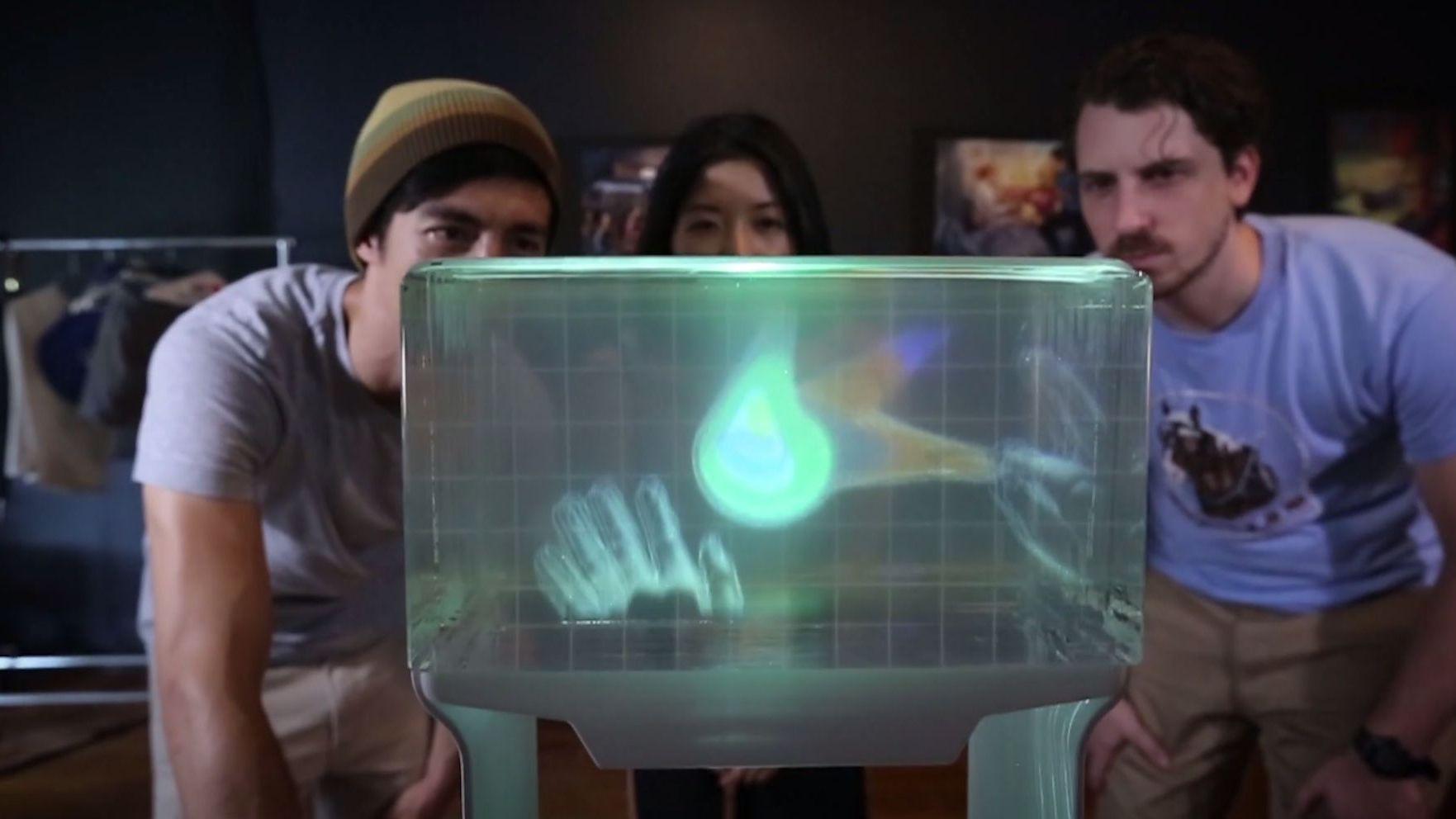 Her er den første «hologram»-skjermen for hjemmemarkedet