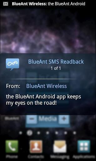 En Android-app leser opp SMS-ene for deg.
