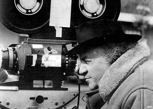 Federico Fellini i aksjon.