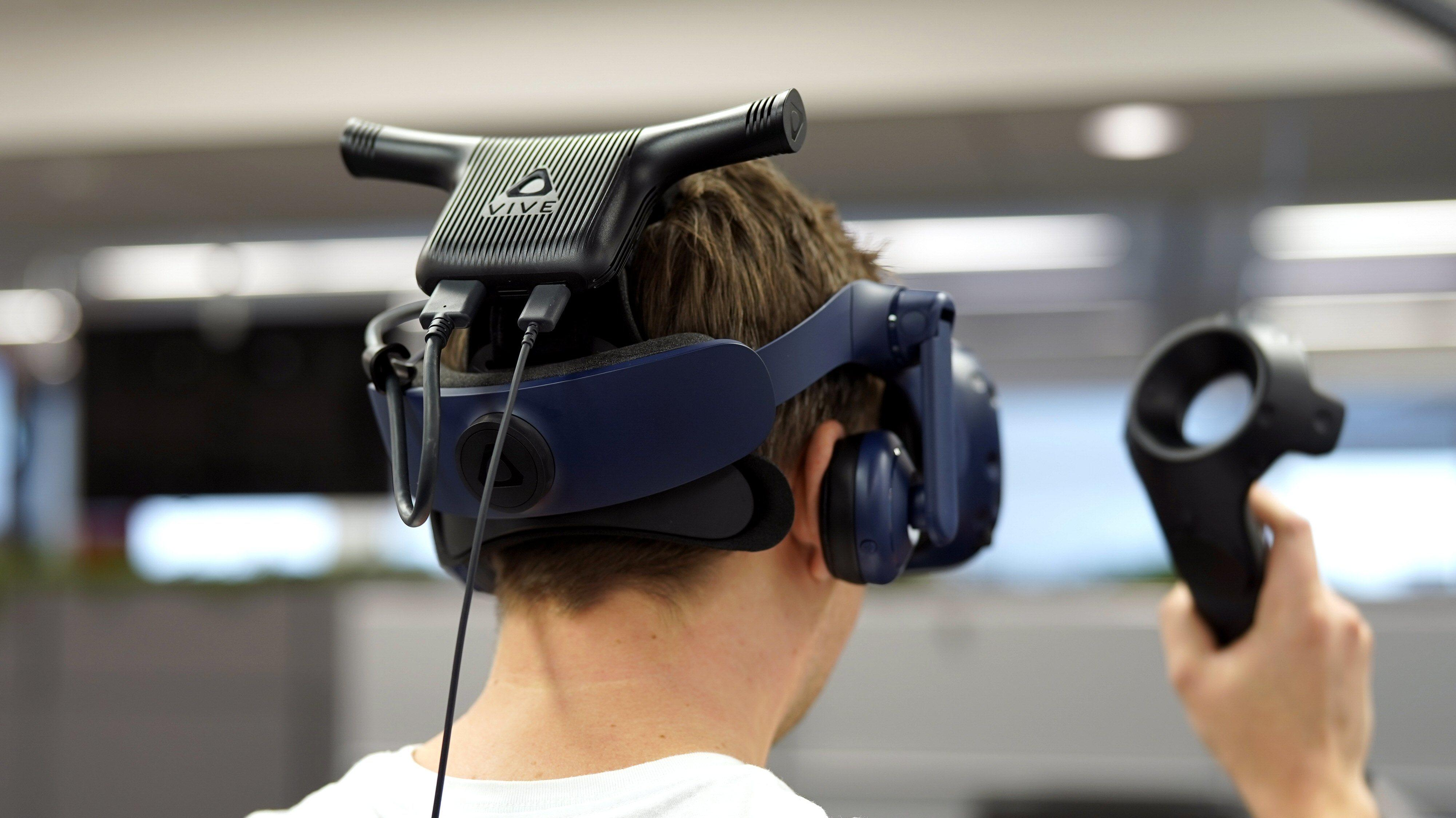 Trådløssmell for HTC Vive