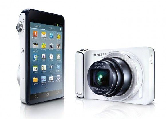 Samsung Galaxy Camera har samme operativsystem og menyer som mobilen din.Foto: Samsung