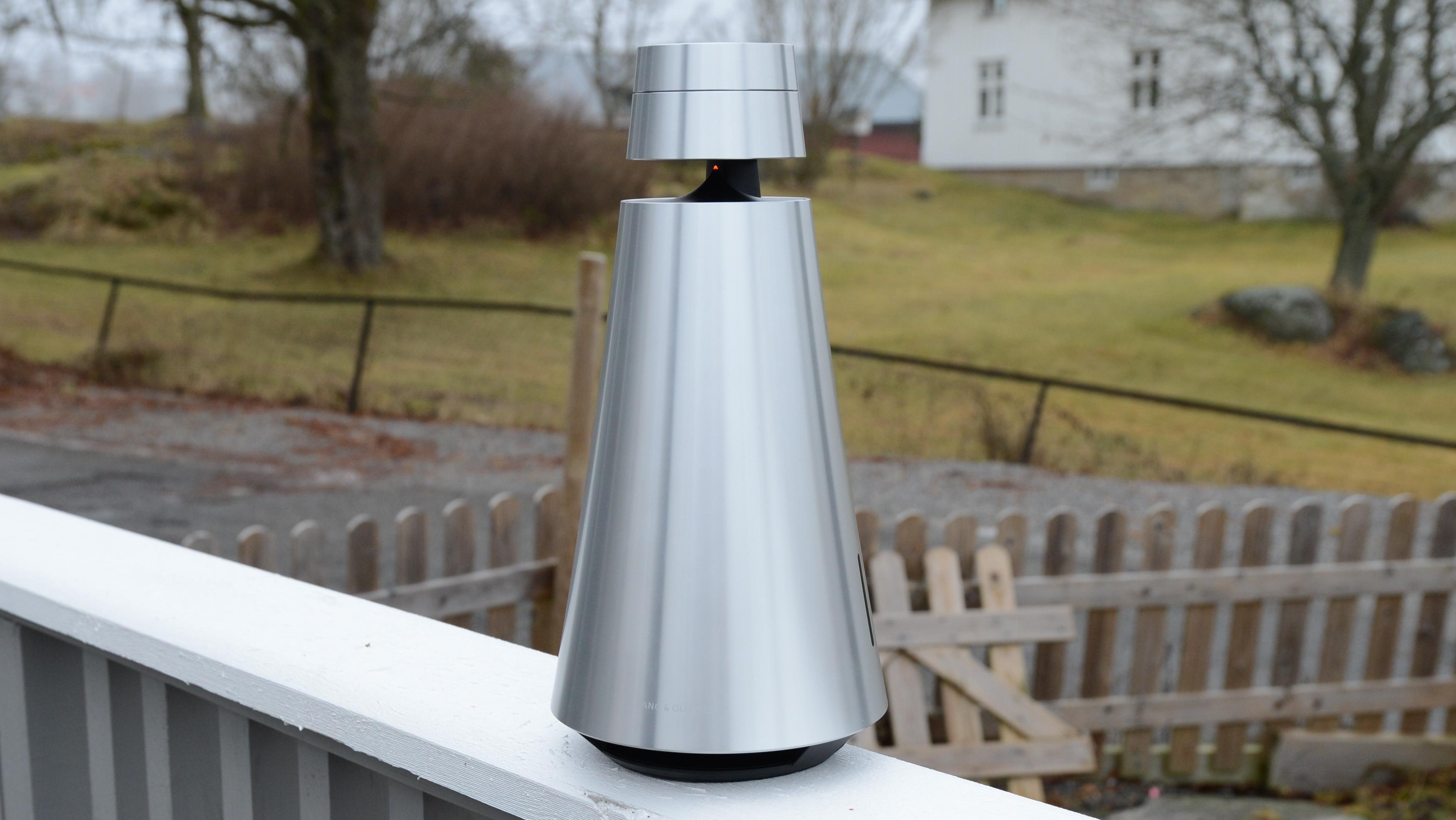 Lyden i Beosound 1 er meget bra. Den kan også tas med ut på for eksempel terrassen.