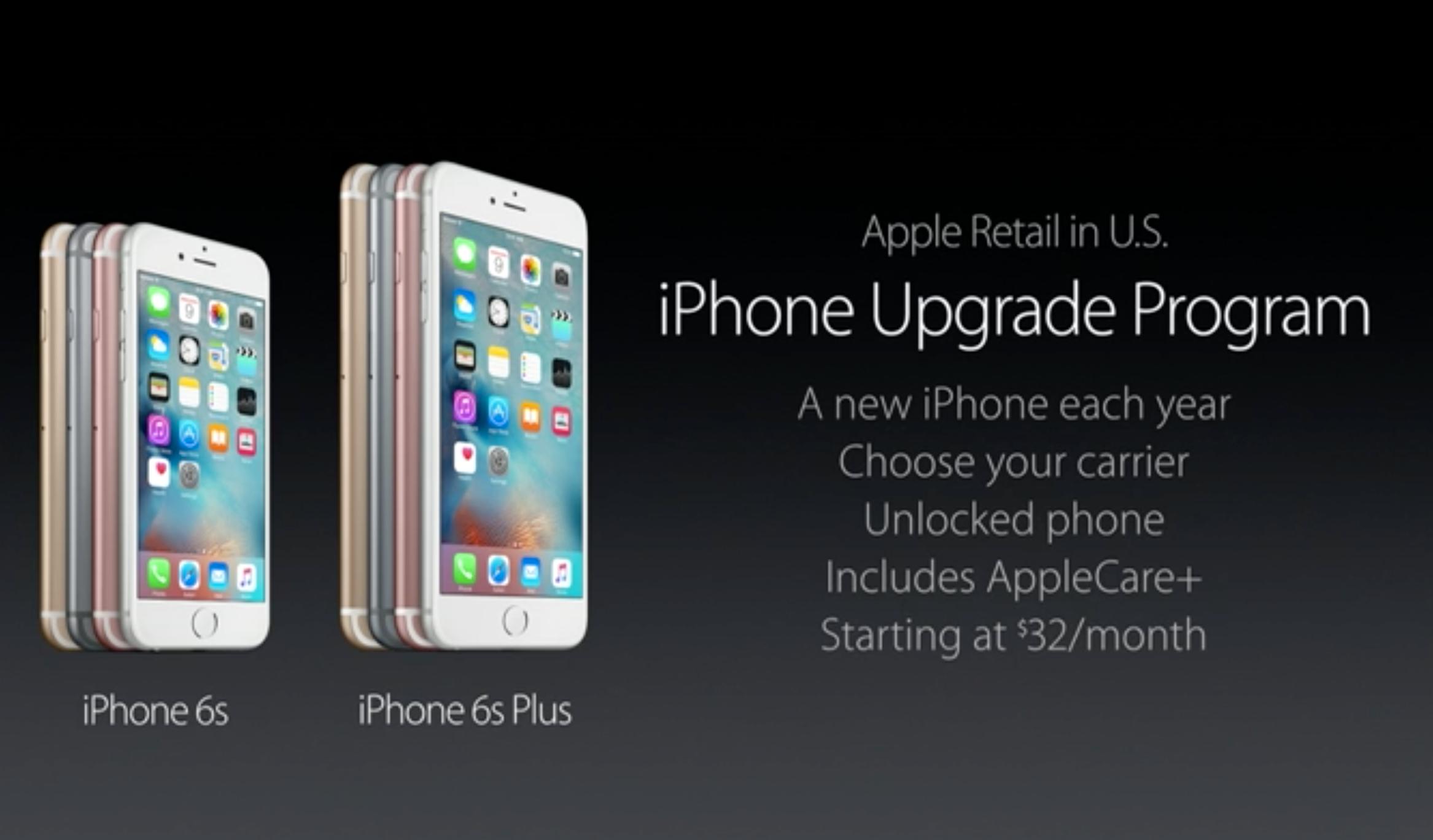 Amerikanerne får en slags abonnements-tjeneste på iPhoner, slik at de alltid får den nyeste modellen for en fast månedspris.
