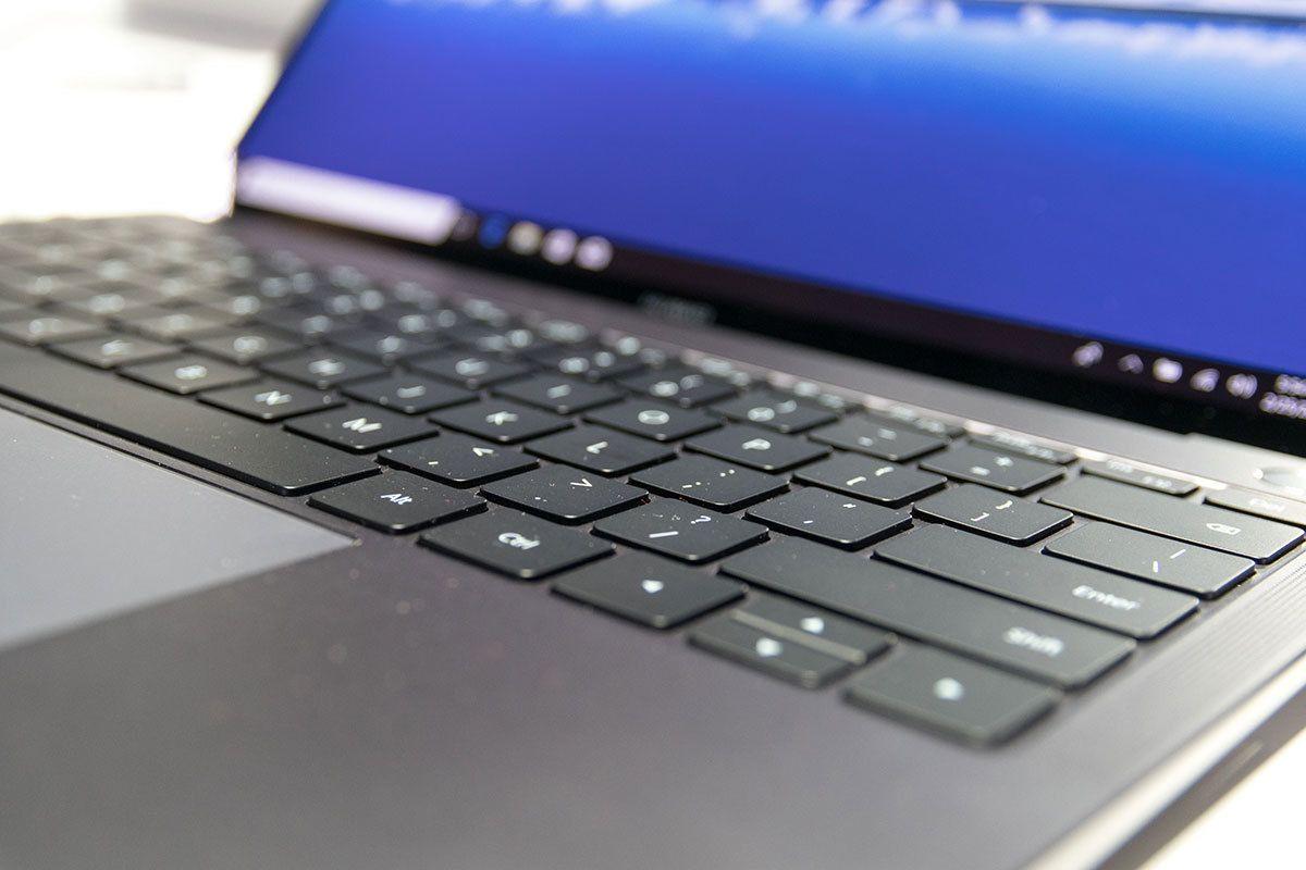 Tastaturet og pekeplaten er like gode som forgjengeren.