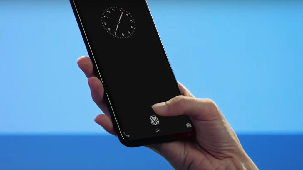 Apple ble slått på målstreken – Denne mobilen har fingeravtrykkleseren bygget inn i selve skjermen