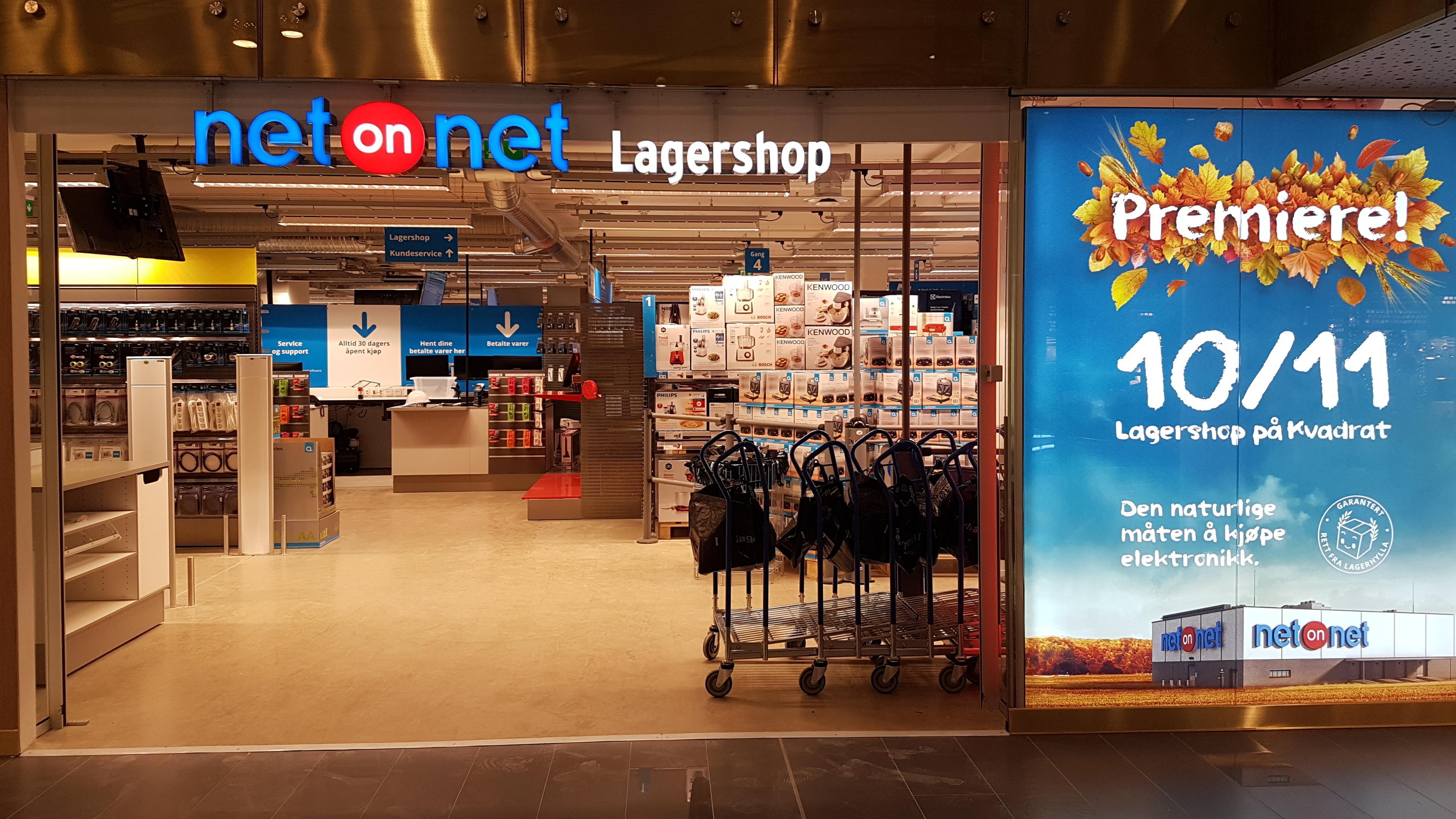 NetOnNet åpner fysiske butikker i Norge