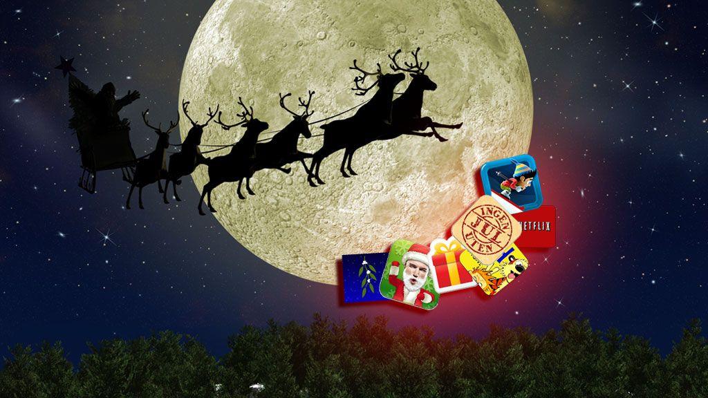 Dette er årets jule-apper