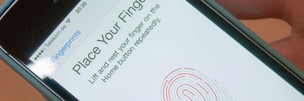 Trykk og betal med Touch ID. Foto: Finn Jarle Kvalheim, Amobil.no