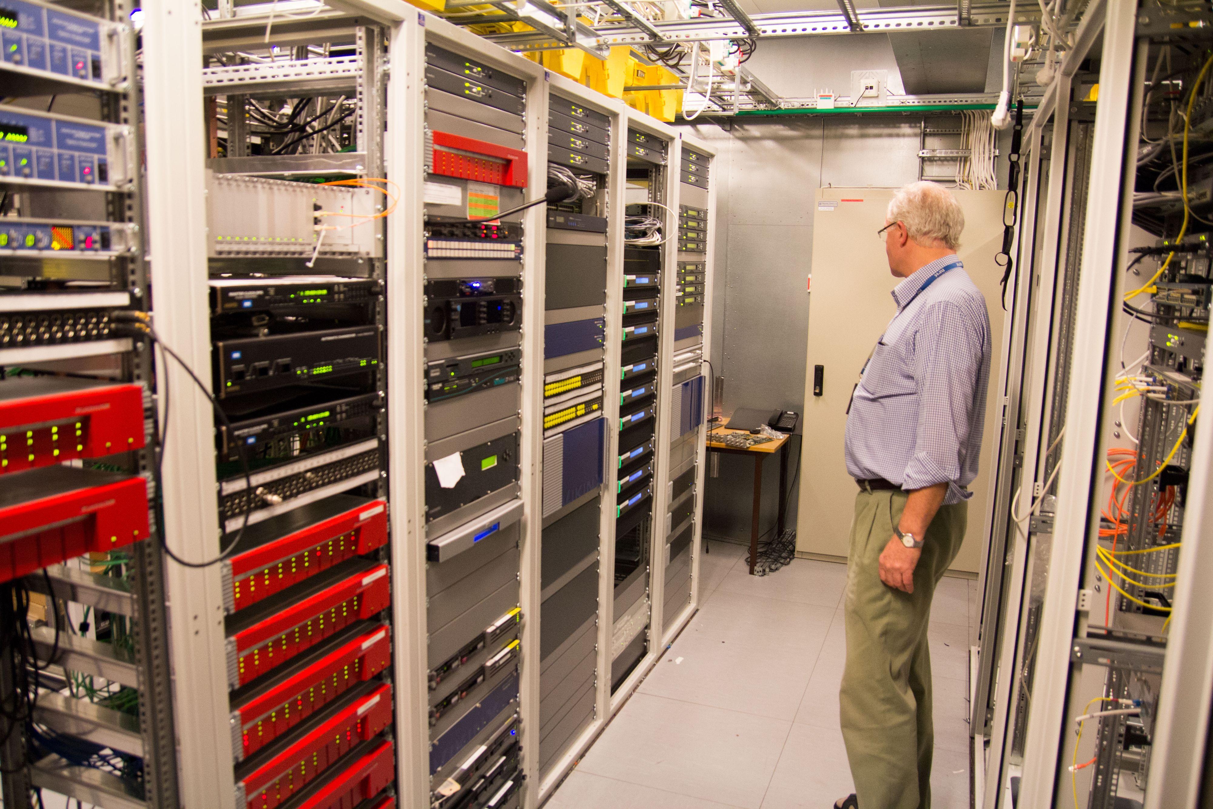 Kraftige maskiner trengs for å lage HD-signaler. Foto: Ole Henrik Johansen / Hardware.no