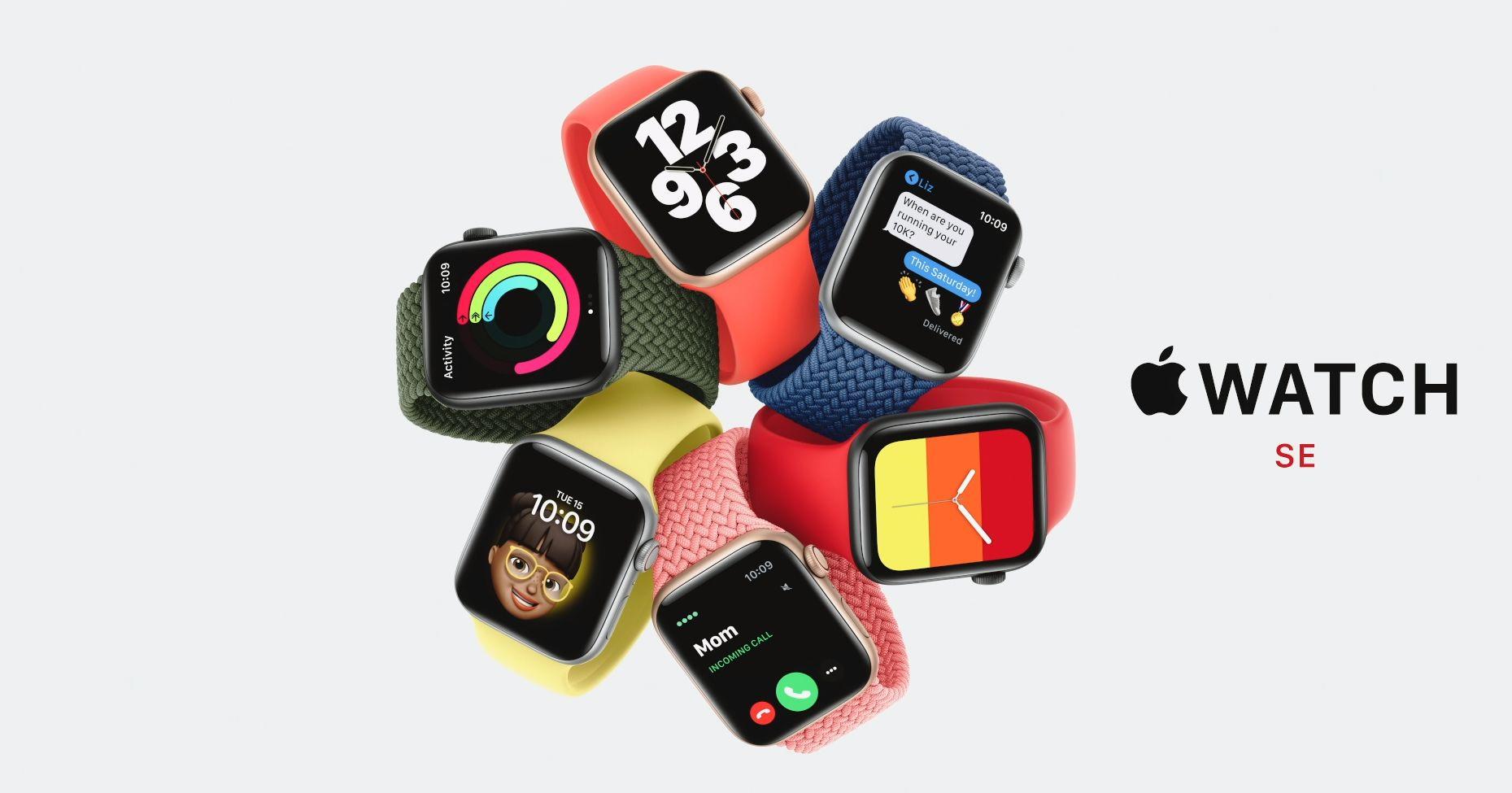 Apple presenterer Watch SE som en krysning mellom series 5 og series 6. Prosessor og skjerm er fra eldre versjoner av klokka, mens en del av sensorene kommer fra den nye.