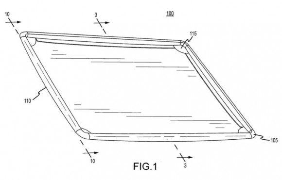 Dette er en skisse fra Apples siste patent. Foto: appleinsider.