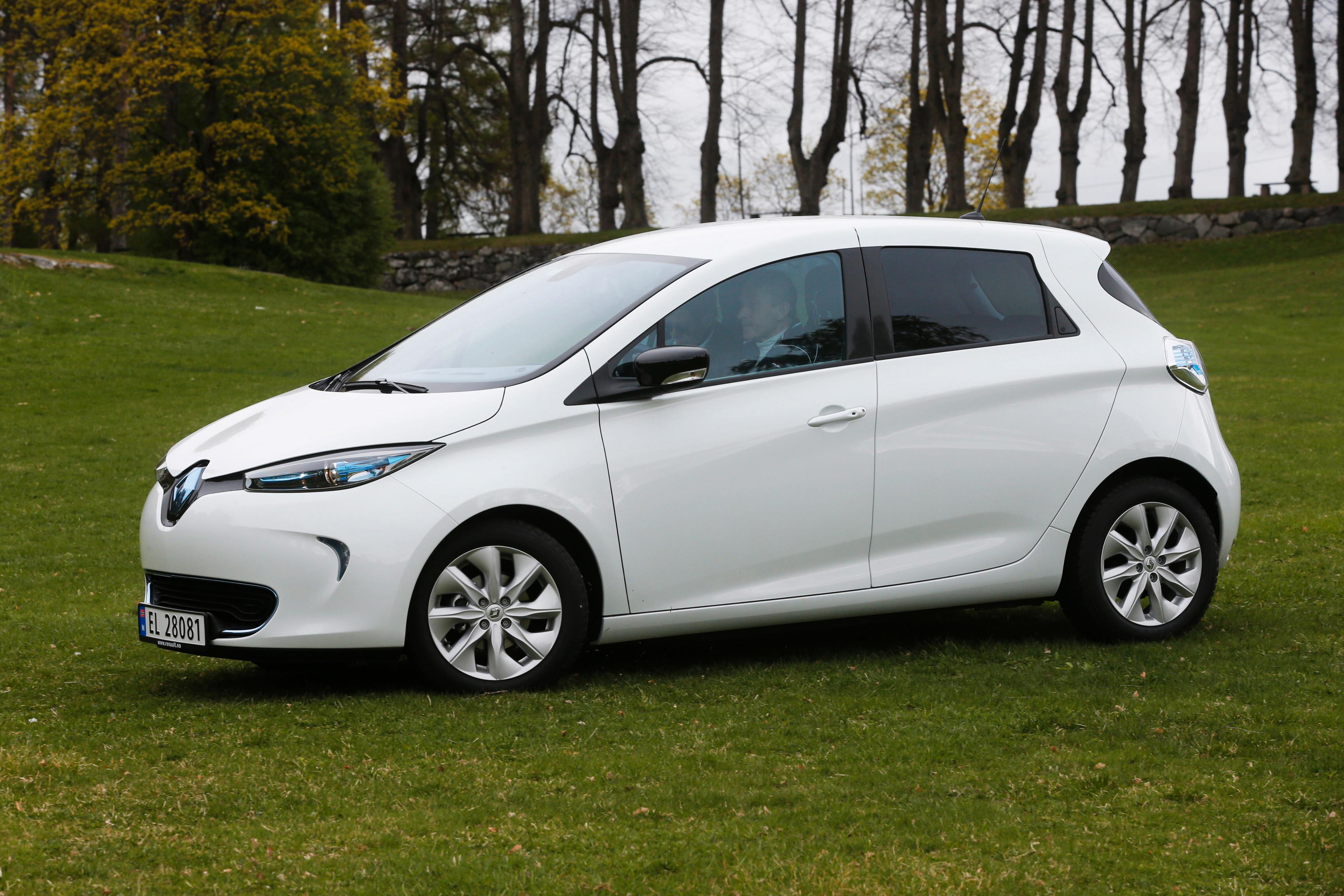 Renault Zoe er elbilen som er i salg i dag som gir mest rekkevidde per krone. Bilde: Jan Petter Lynau, VG