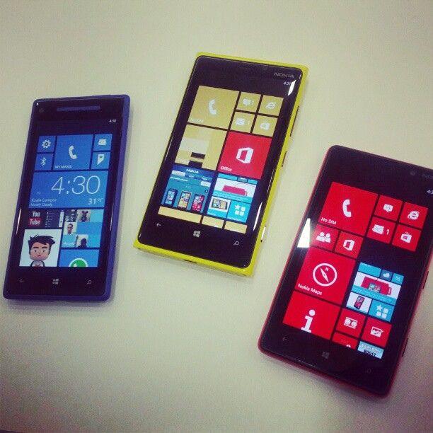 Windows Phone deler mange fellestrekk med Windows 8.Foto: Vernon Chan / Wikimedia Commons