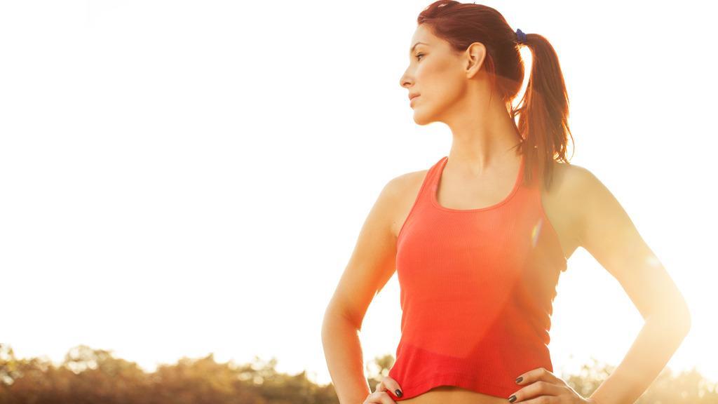 Stå slik i to minutter før joggeturen, så kanskje du slår rekorden din?Foto: Shutterstock