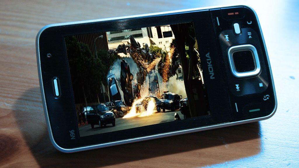 Se filmene dine på mobilen