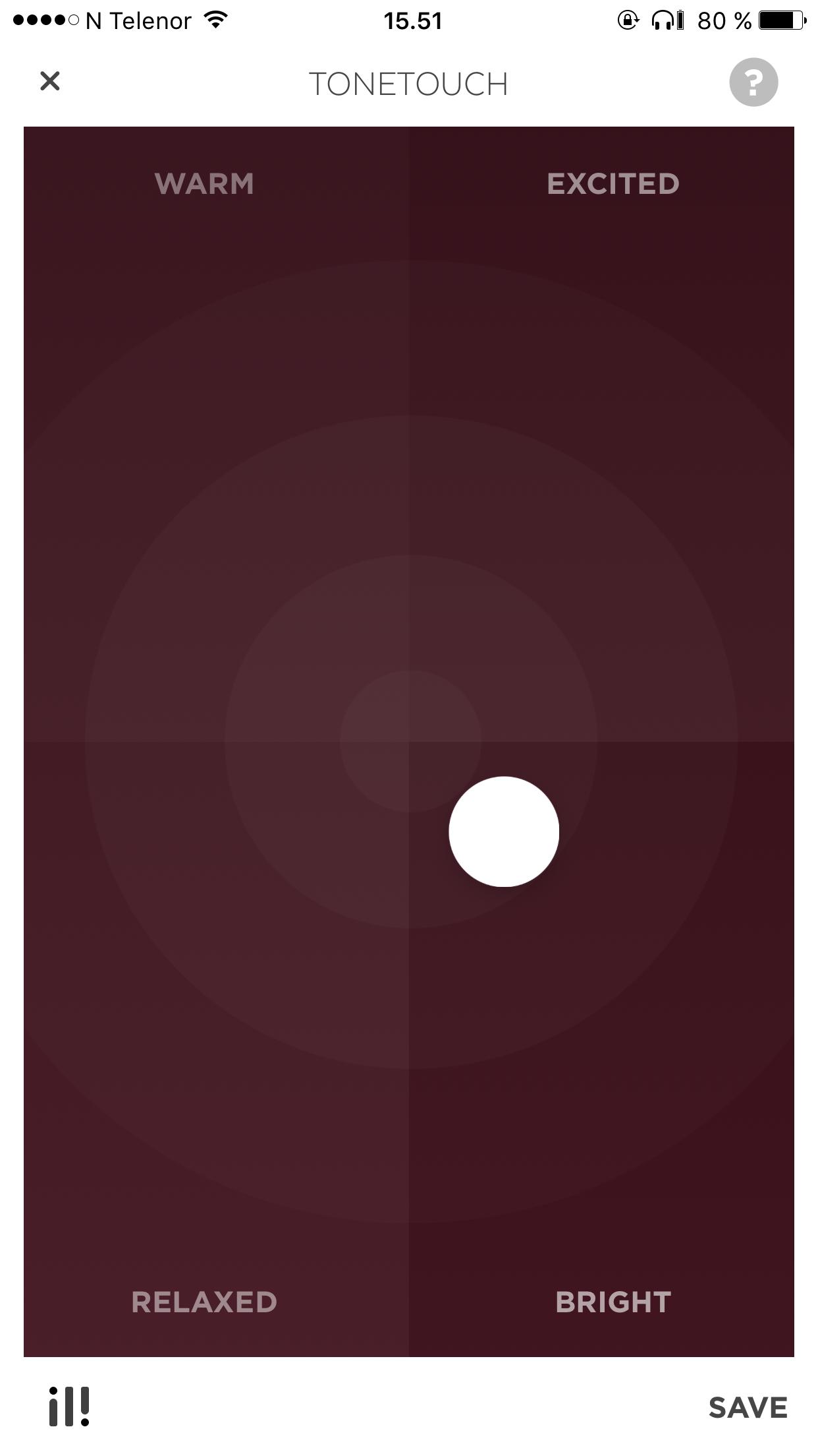 Bang & Olufsens Beoplay-app har en equalizer som lar deg finjustere lyden slik du vil ha den. Undertegnede foretrekker ørlite mer futt i diskanten enn hva de leverer ut av eska.