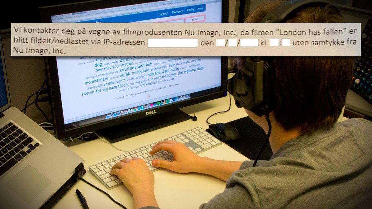 Nettleverandører tvinges til å oppgi navnene på flere tusen norske fildelere