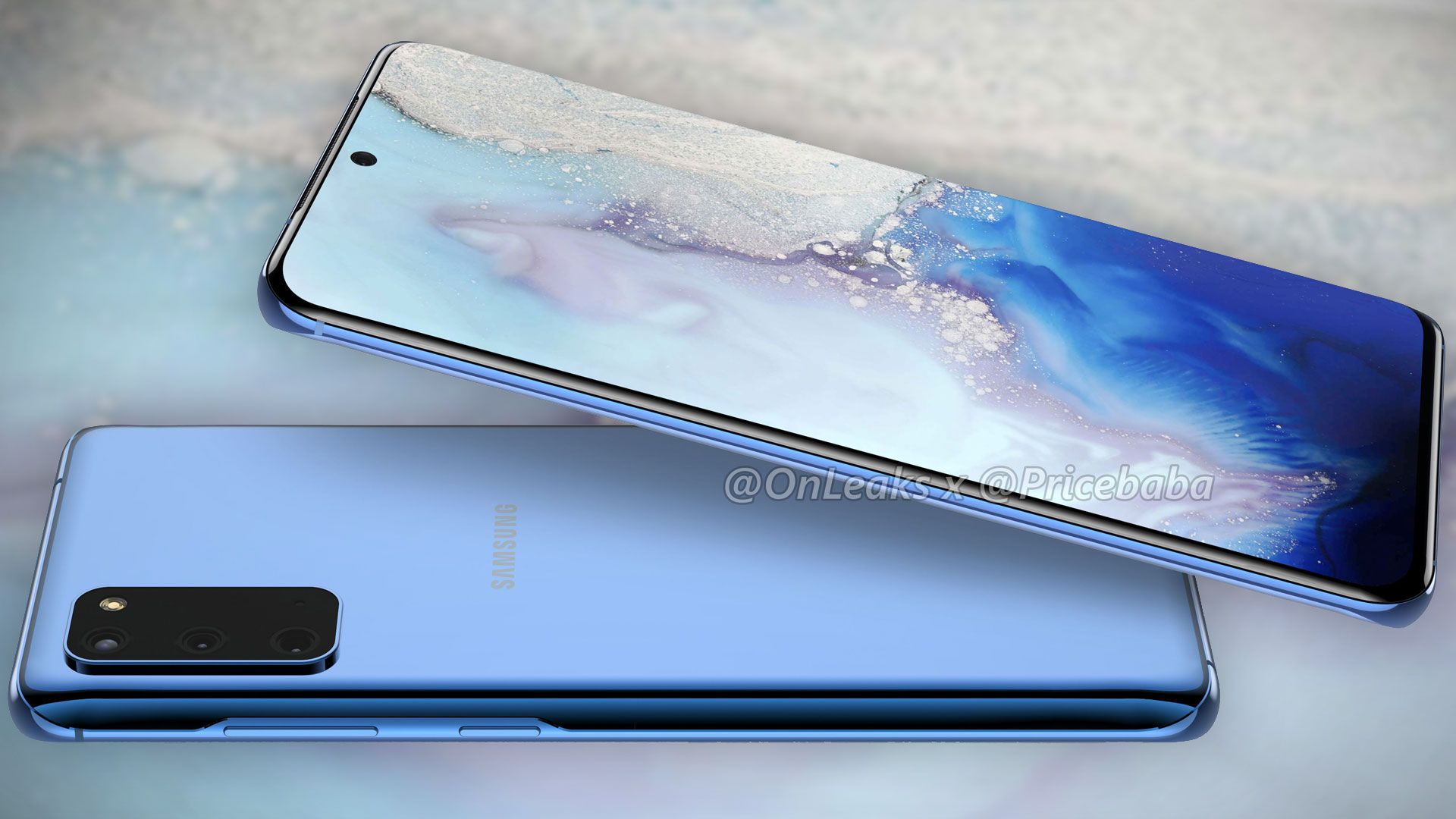 Dette kan være Samsung Galaxy S11