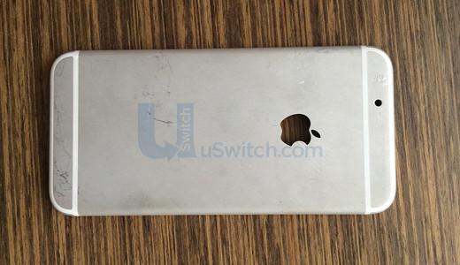 Det ventes at nye iPhone vil få helt ny design. Dette er en av de mange tidlige gjetningene på hvordan den designen vil bli.Foto: uswitch.com