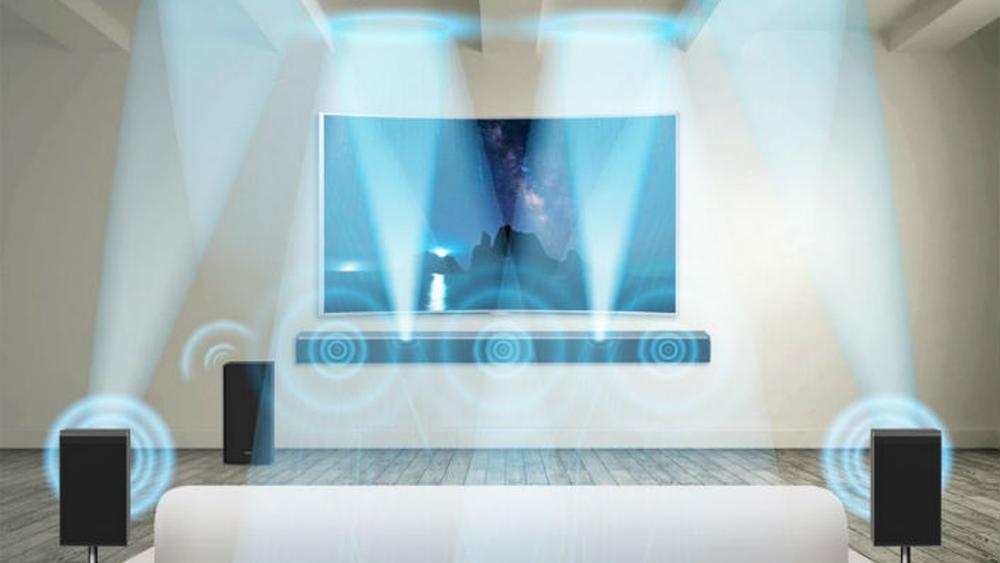 Med dette oppsettet kan du få Dolby Atmos i stua, uten å fylle hele rommet med høyttalere