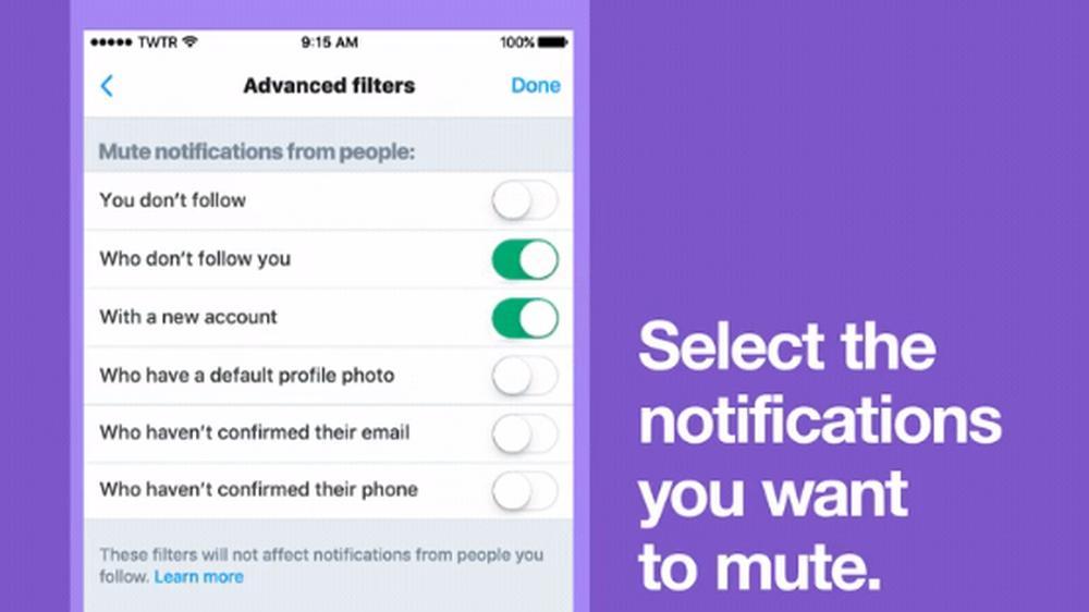 Nå kan du gjøre Twitter-opplevelsen din litt mindre masete