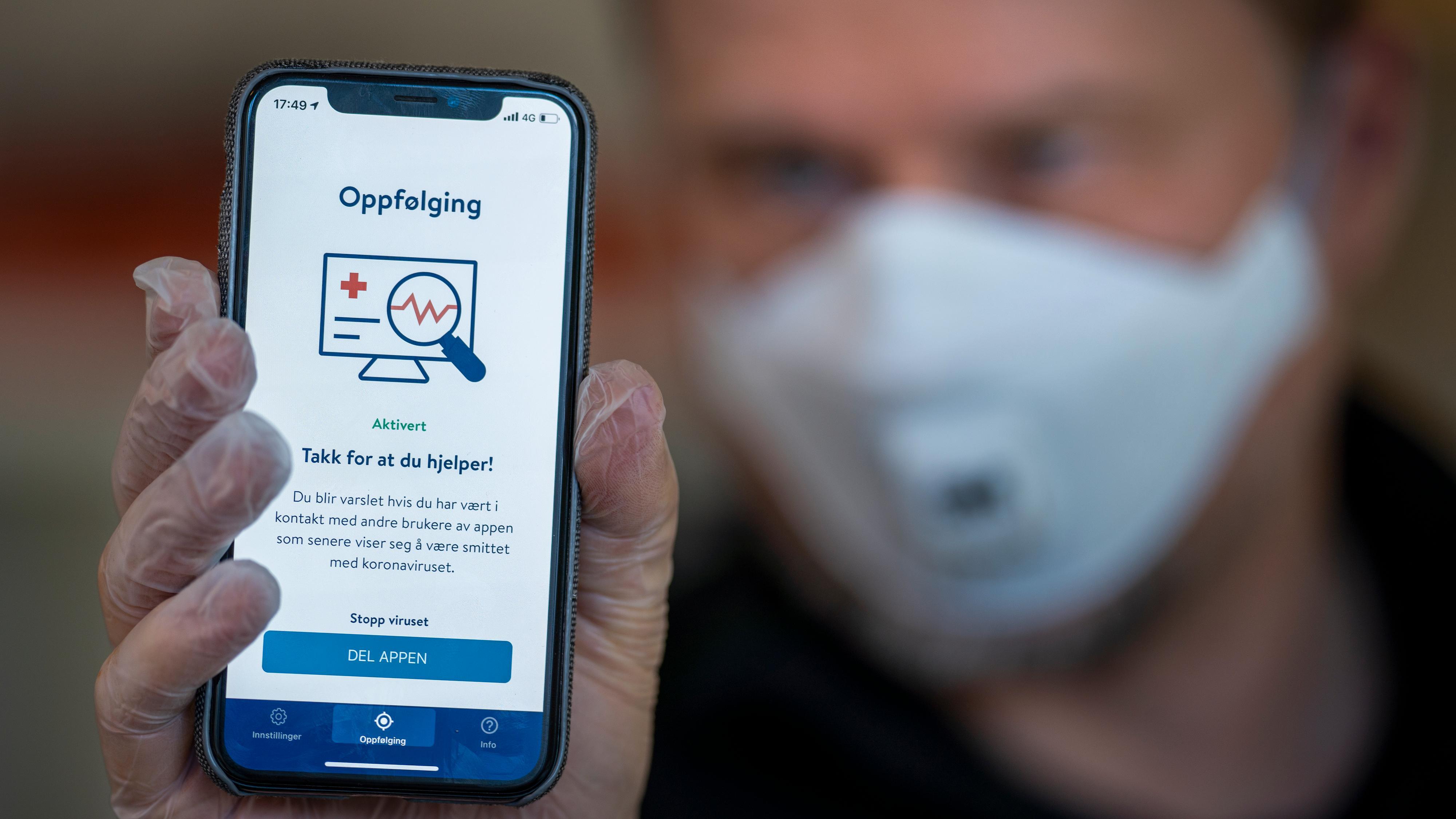 Dansk selskap skal utvikle ny smitteapp