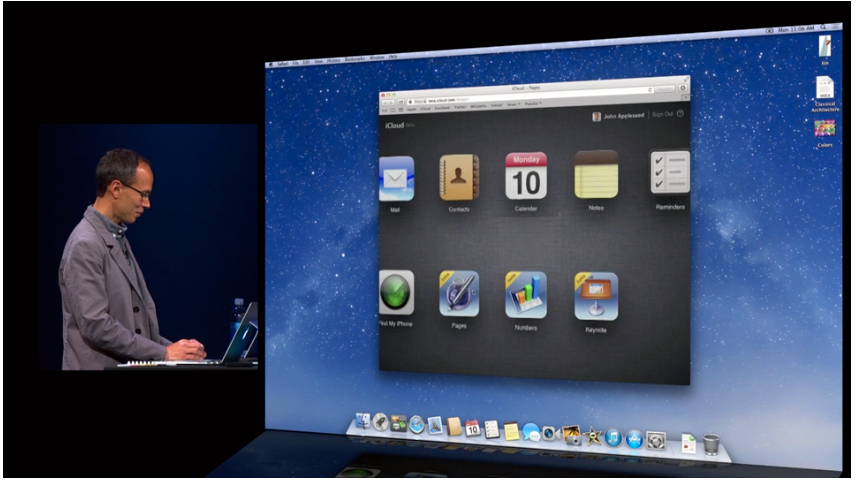 iWork for iCloud lar deg redigere og lage dokumenter og regneark direkte i nettleseren, uansett om du bruker Windows eller OS X.Foto: apple