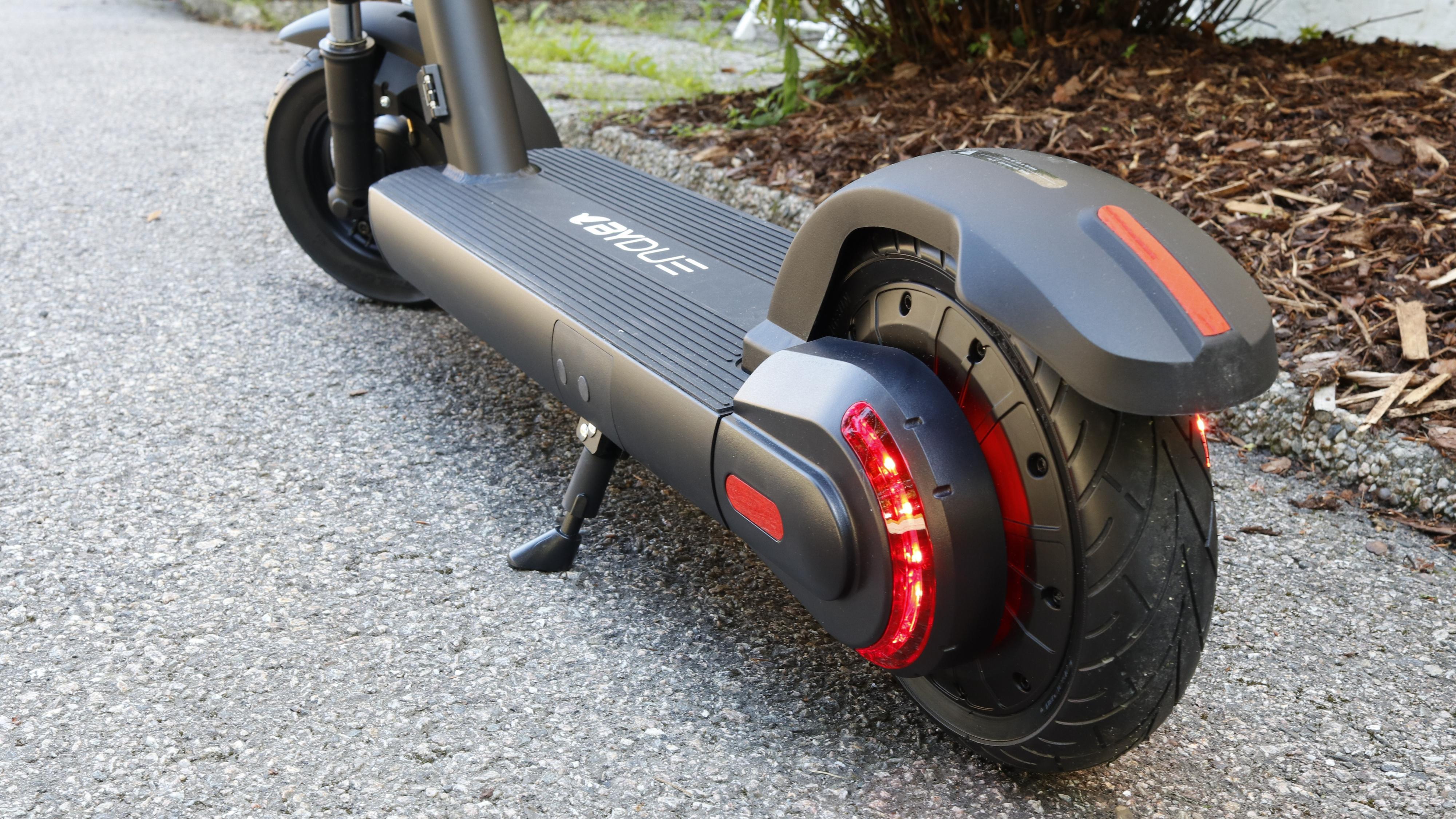 Med lys på hver side av bakhjulet, kan de også brukes som retningsanvisere. Men vil noen legge merke til det?