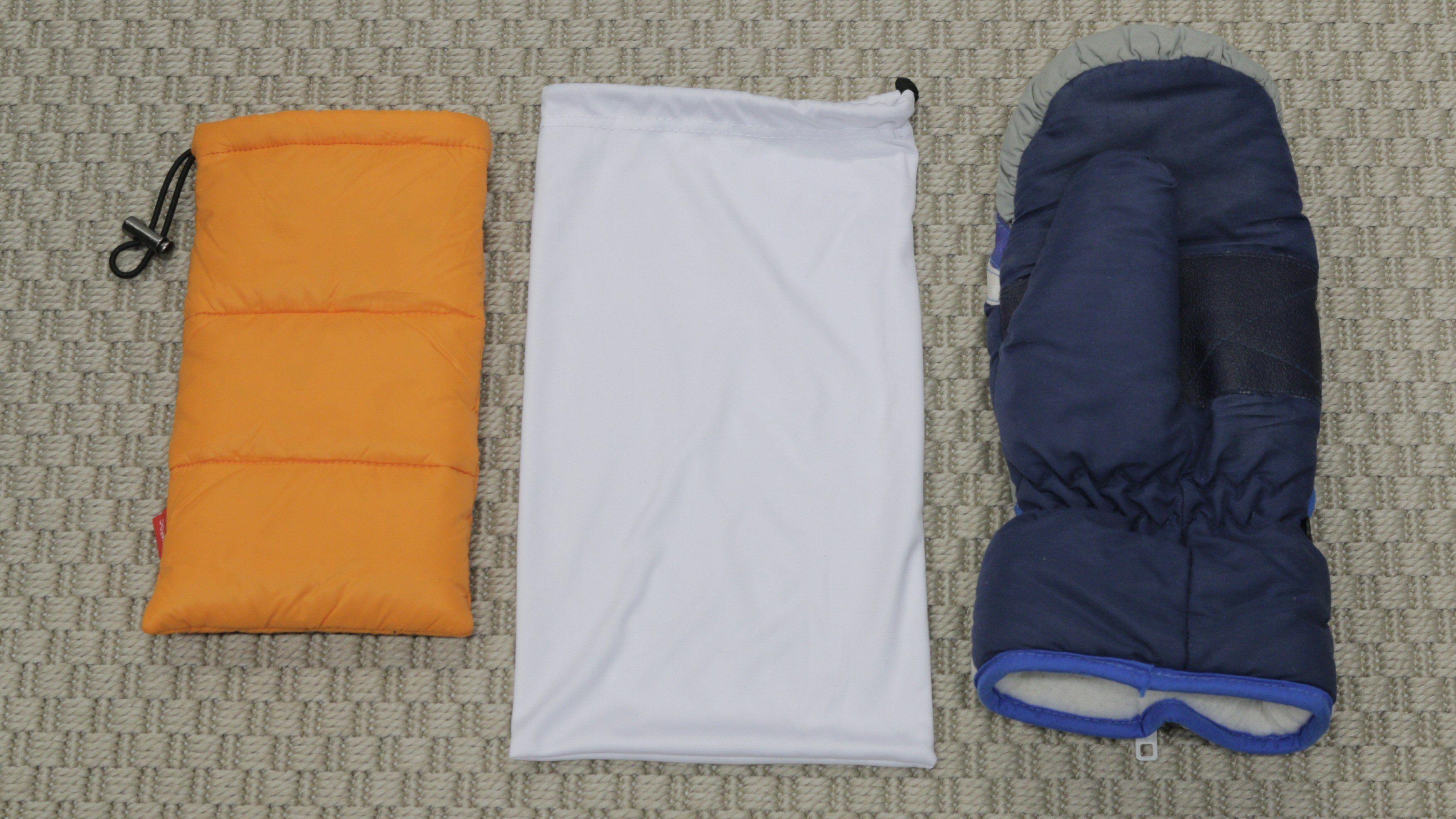 Termopose, brillepose og polvott. Polpose testet vi ikke med.