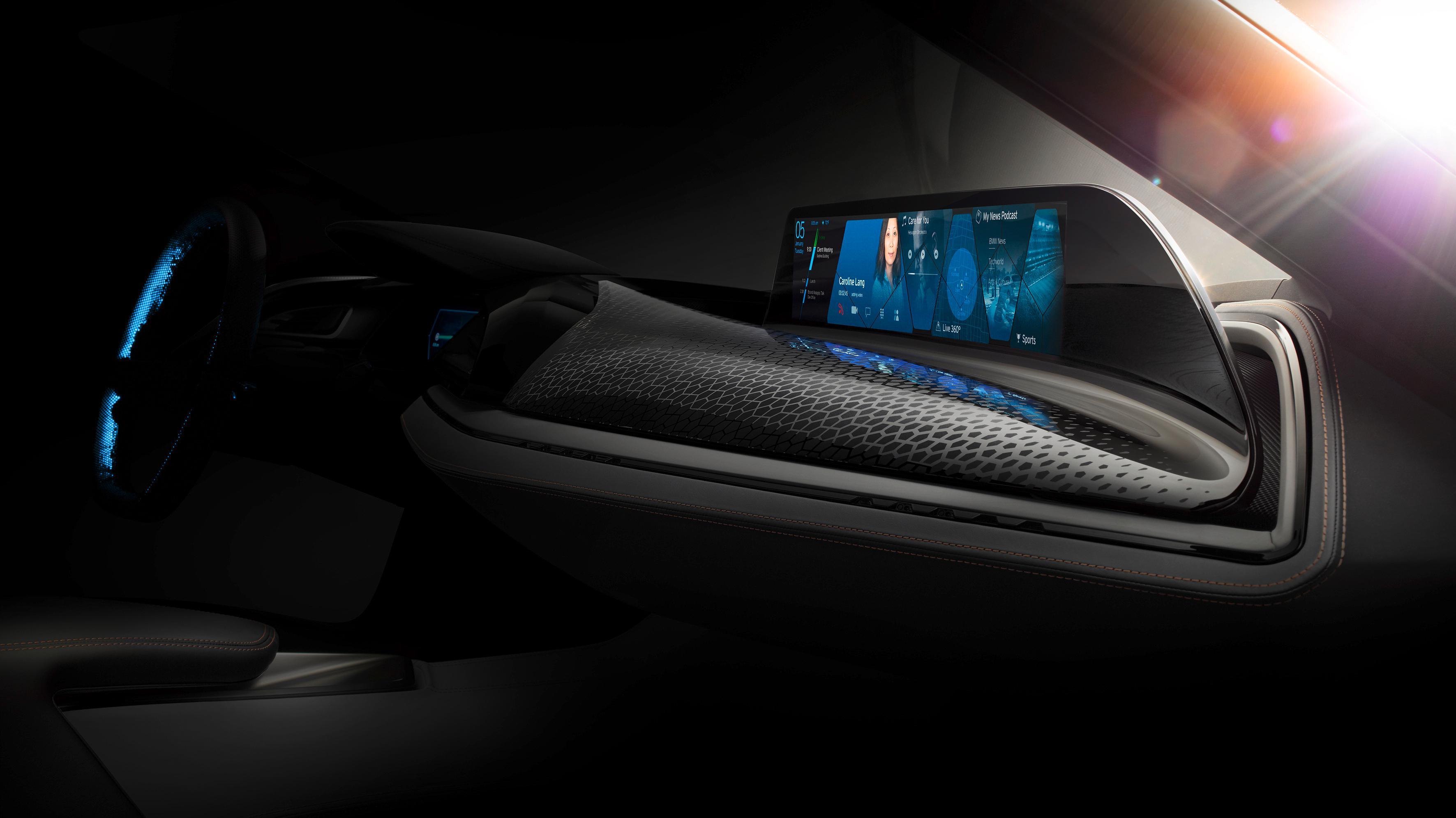 BMW med nytt og spennende kontrollsystem for biler