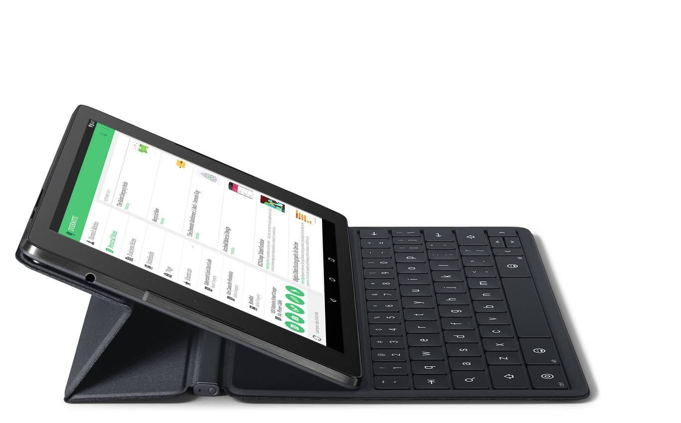 Tastaturdeksel er ekstrautstyr til Nexus 9.Foto: Google
