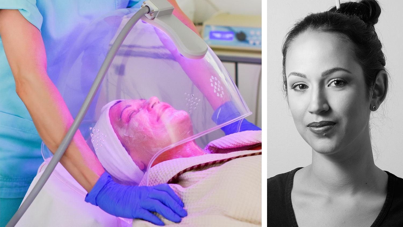 """""""Trenden mot naturliga lösningar ökar enormt. Kunder är mycket mer intresserade av att nå riktiga resultat naturligt, istället för att behöva fylla på sin ungdomlighet med injektioner var sjätte månad, säger Anaïs Schönborg, auktoriserad hudterapeut."""