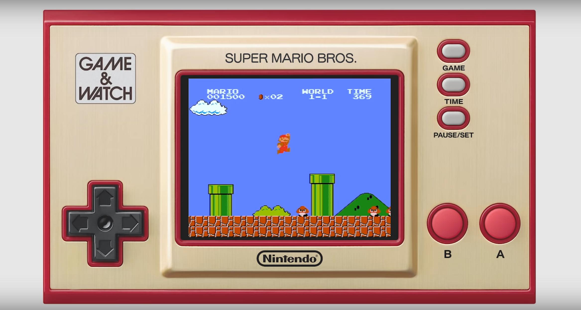 Nintendo slipper ny versjon av Game & Watch, med nyere spill