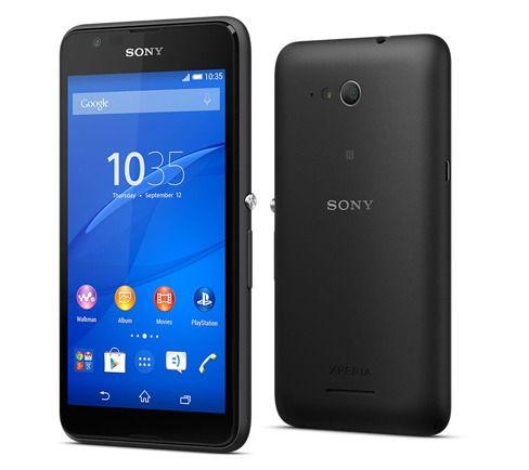 Sony Xperia E4G gir deg 4G og en rask og god brukeropplevelse. Foto: Sony