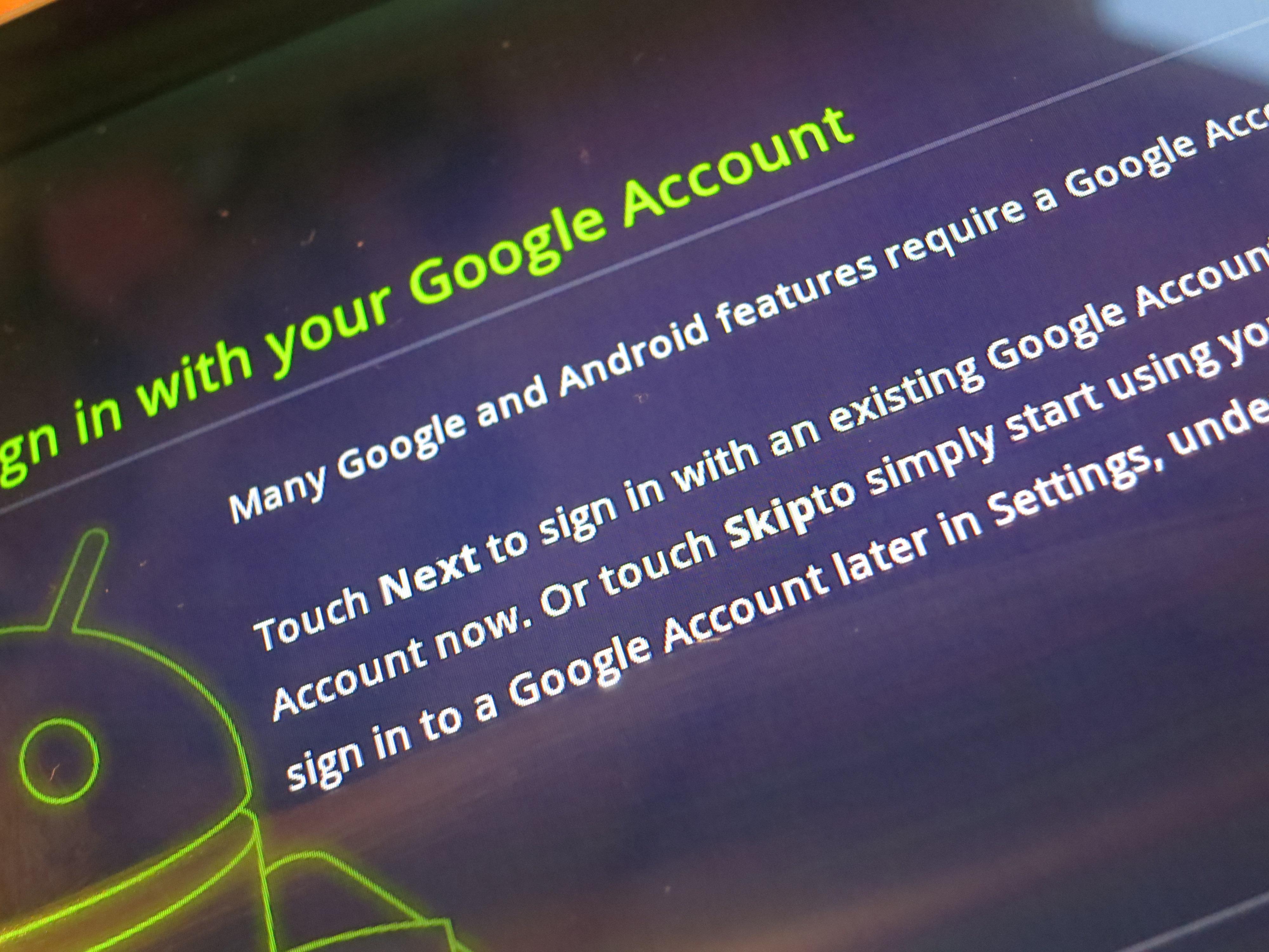 Du trenger en brukerkonto for å få tilgang til alle nettbaserte tjenester.
