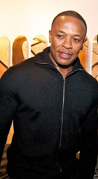 Den kjente rap-artisten Dr. Dre er en av grunnleggerne av Beats Electronics.Foto: Wikipedia Commons