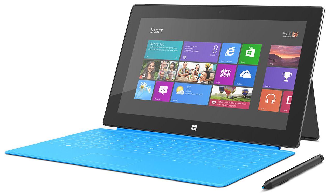 Nettbrett som kjører Microsofts Windows 8.1 Pro oppfører seg mer eller mindre som vanlige PC-er, men skal du ha en med litt futt i koster også disse en del.Foto: Microsoft