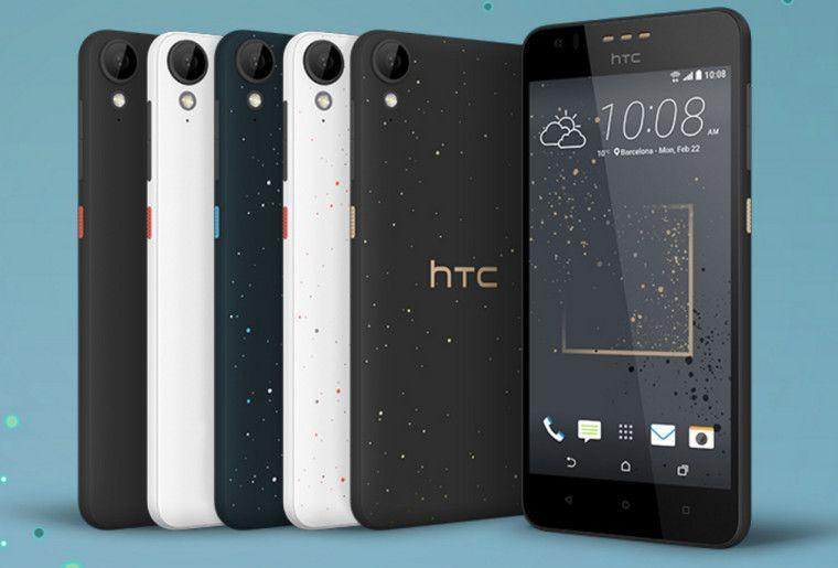 Slik ser HTC Desire 825 ut, i all sin prakt.