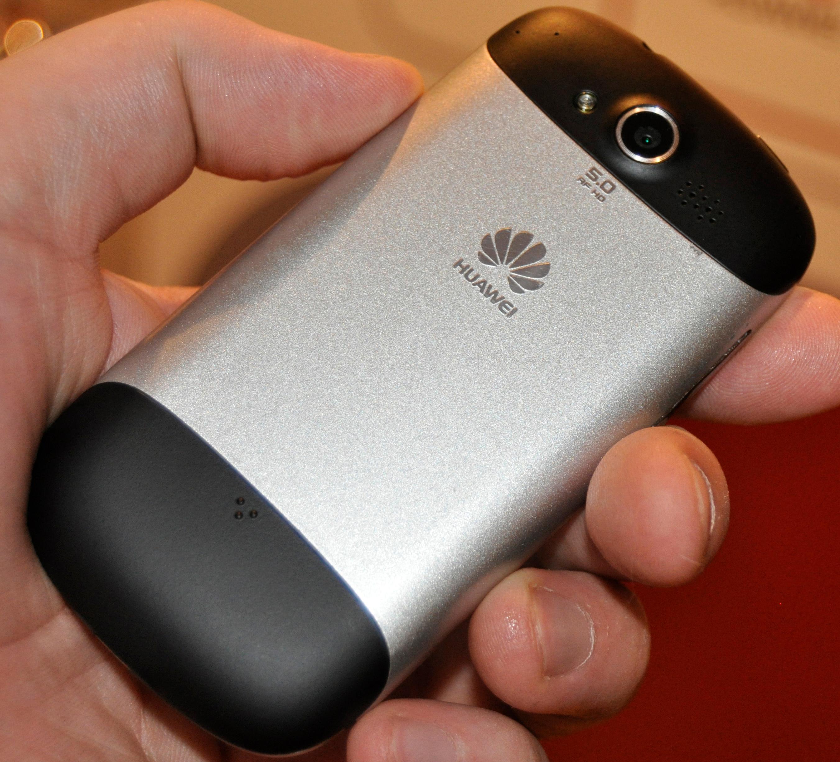Huawei Vision er frest ut av ett stykke aluminium.