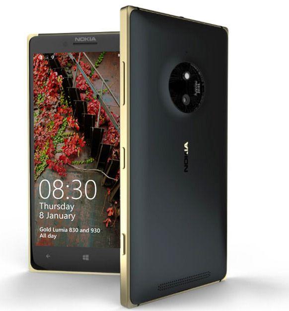 Lumia 830 Gold. Foto: Microsoft