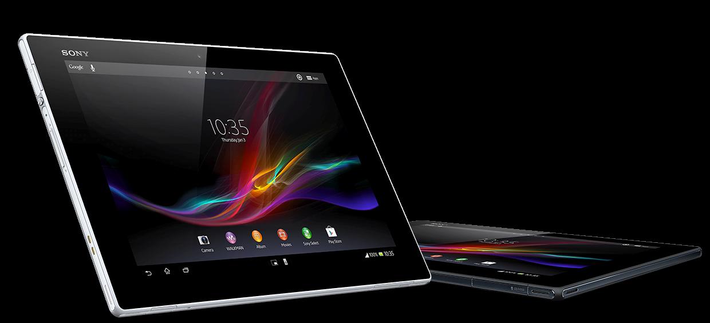 Sony Xperia Tablet Z.Foto: Produsentfoto