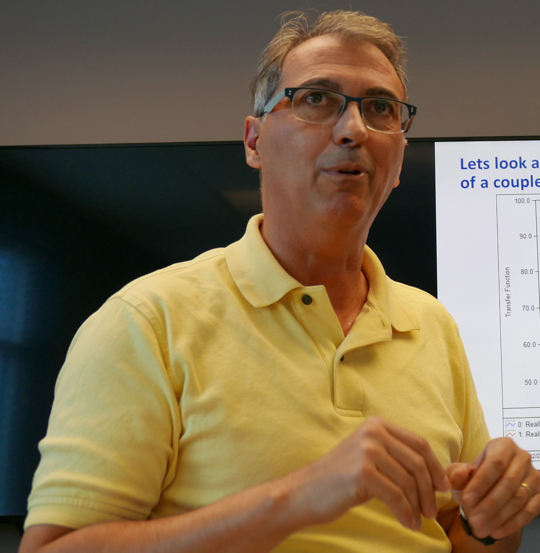 Doktor Pascal Brunet i Samsung Research America. Foto: Ole Henrik Johansen / Tek.no