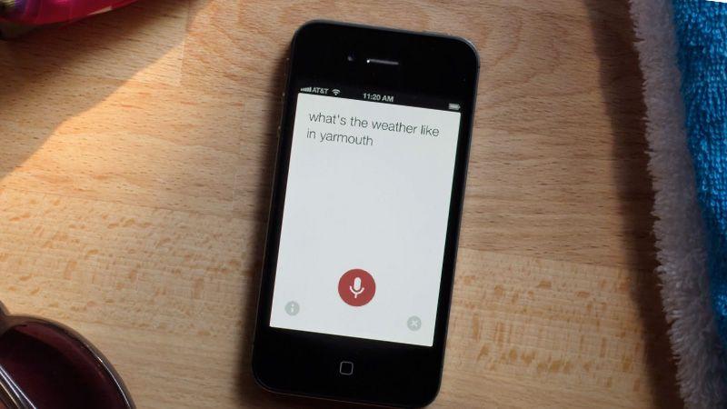 Nå får du Googles talesøk på iPhone