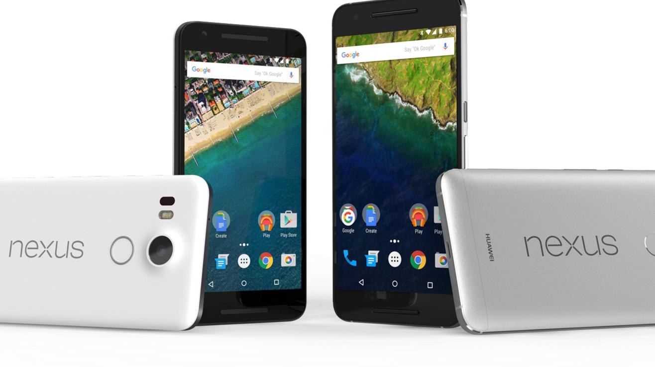 Navnene på Googles nye telefoner er avslørt