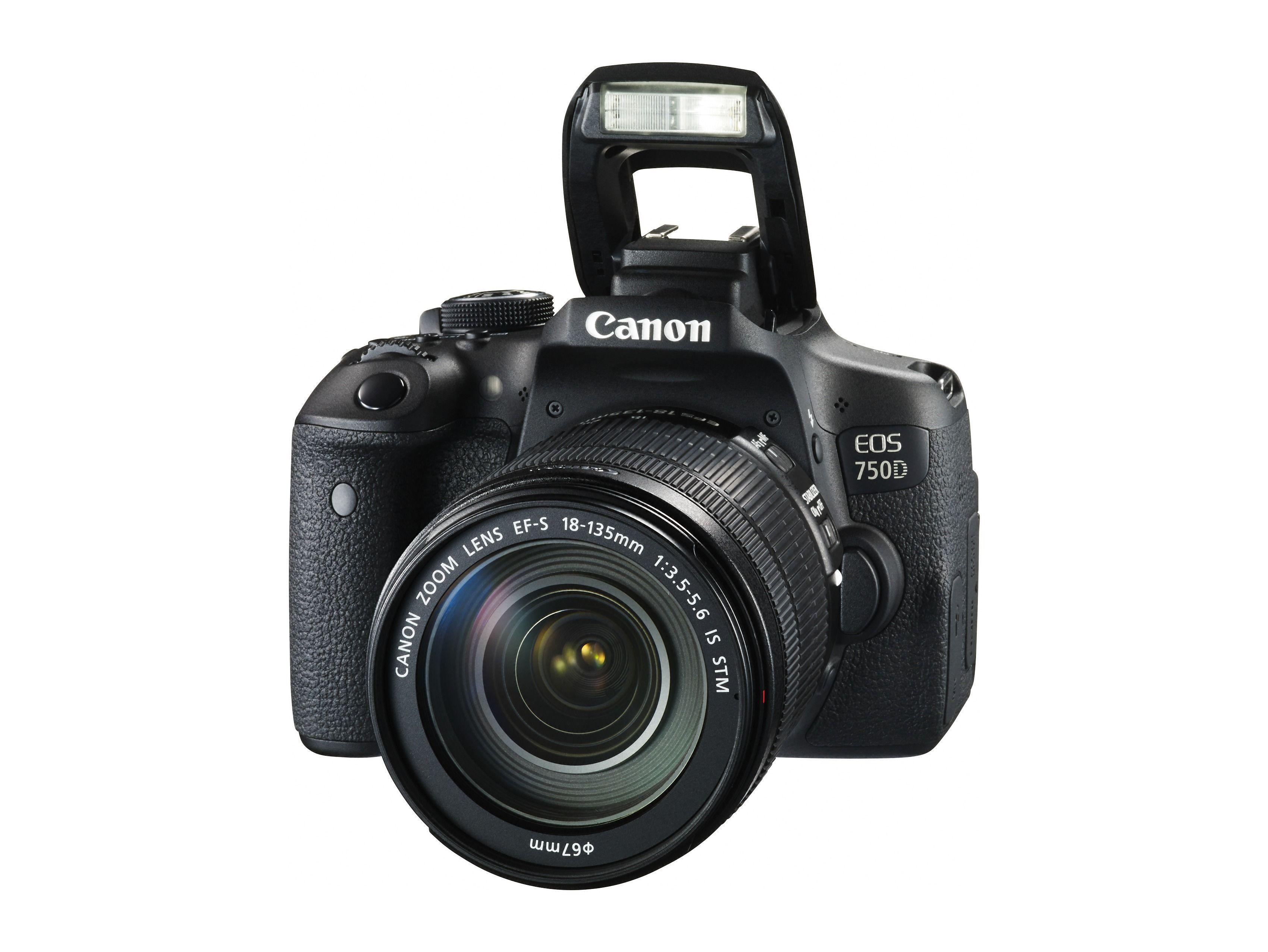 «Lillebror» EOS 750D. Foto: Canon
