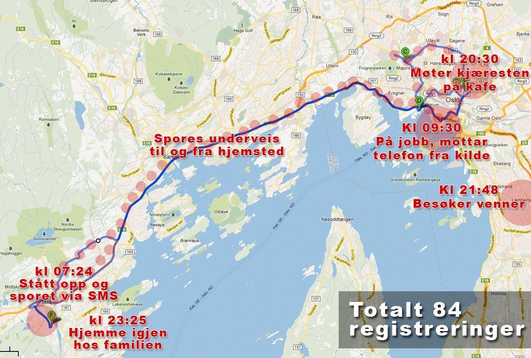 Mobiloperatørene lagrer informasjon om hvilke basestasjoner du har vært i kontakt med.Foto: Illustrasjon: Amobil.no, CC-Attribution