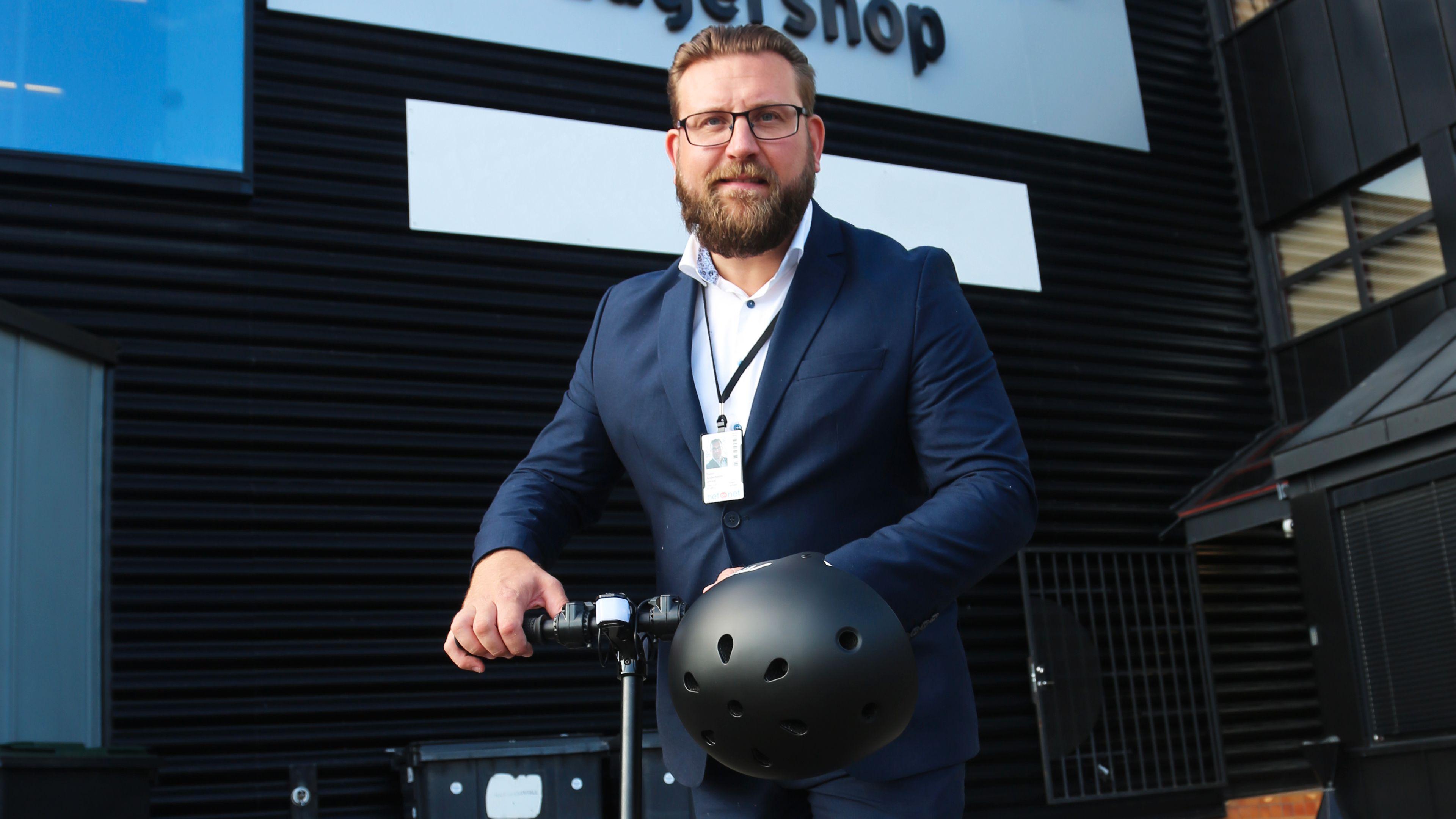 Peter Andersson, Retailsjef i NetOnNet