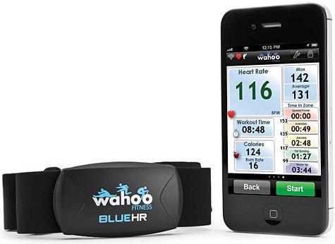 Dette Bluetooth Smart-pulsbeltet fra Wahoo er basert på en brikke fra Nordic Semiconductor.Foto: Wahoo