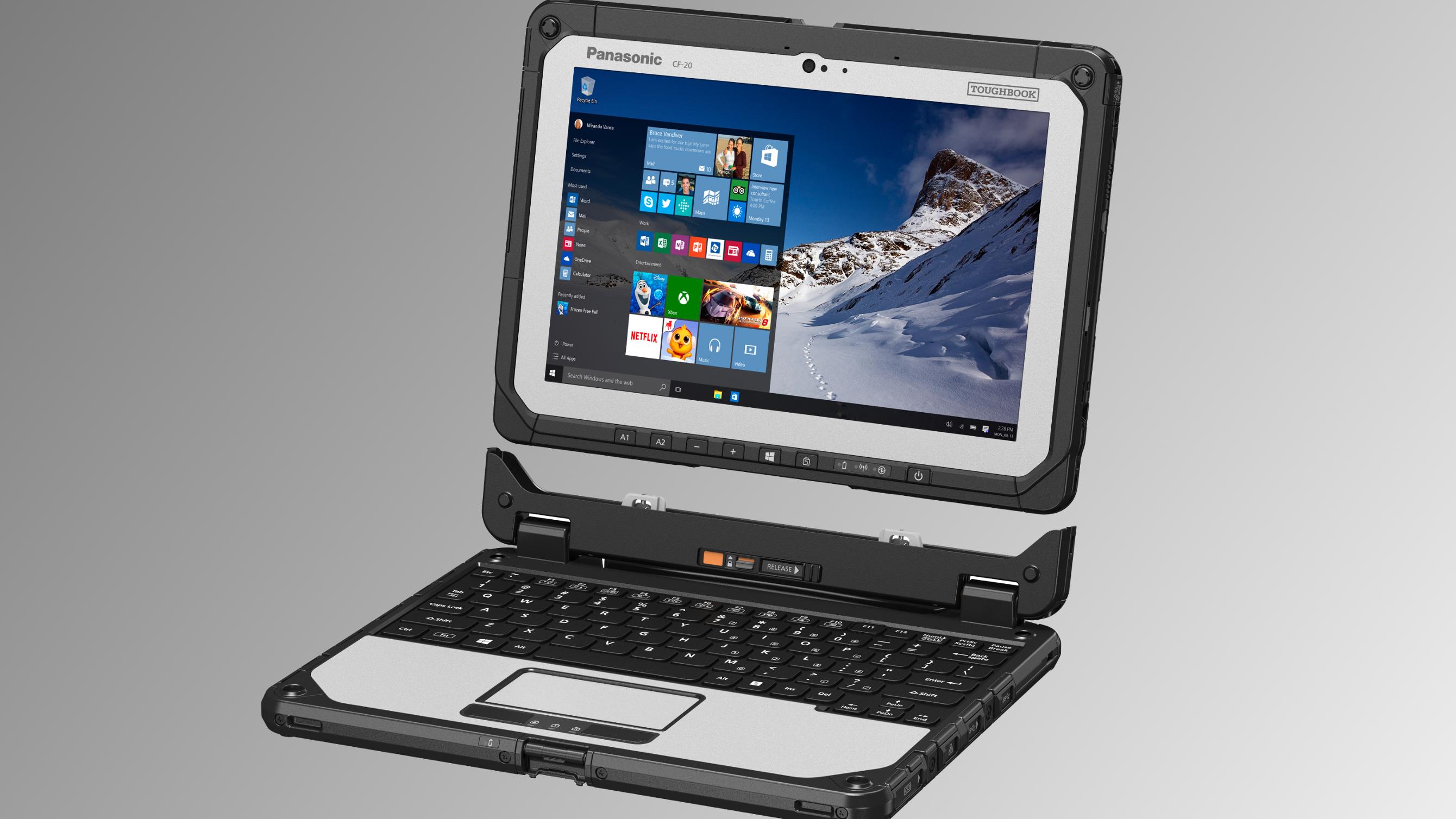 Panasonic har sluppet en ny nettbrett-PC som tåler «alt»