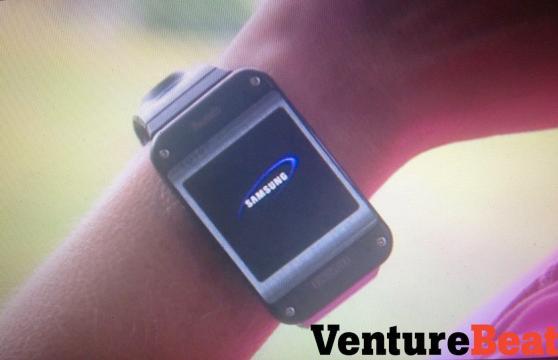 Samsung Galaxy Gear, slik den skal se ut ifølge Venturebeat.Foto: VentureBeat